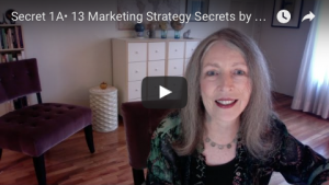 13 Marketing Strategy Secrets YouTube video series by Diane A Curran