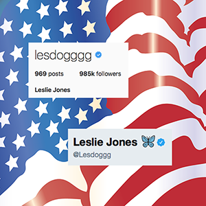 SuperFan, SuperFollowed Leslie Jones, our FebMMA